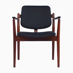Armlehnstuhl von Arne Vodder für Sibast, 1960er