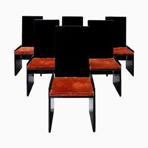 Kazuki Stühle von Kazuhide Takahama für Gavina, 1968, 6er Set