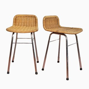 Vintage Bar Stools from Rohé Noordwolde, Set of 2
