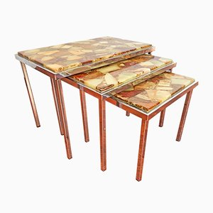 Tavolini ad incastro vintage