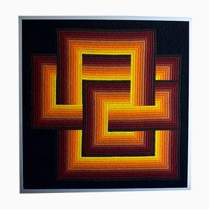 Wandteppich mit kinetischem Muster von Patrice Allard für SEG, 1970er