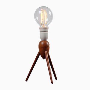 Mid-Century Teak Table Lamp