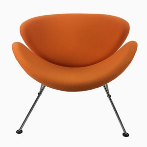 Chaise Orange Slice Vintage par Pierre Paulin pour Artifort, 1980s