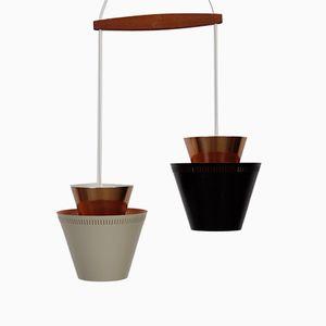 Lampada 2-in-1 vintage di Johannes Hammerborg per Fog & Morup