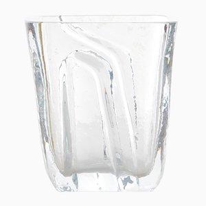 Vaso piccolo vintage in vetro di Kosta Boda, Scandinavia