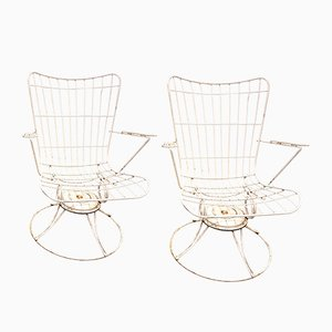 Garden Rocking Chairs, 1960s, Set of 2