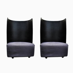 Lounge Chairs by Carlo Colombo for Zanotta, 1970s, Set of 2