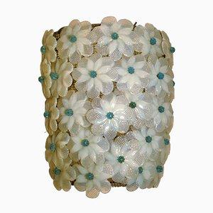 Lámpara de pared de cristal de Murano de Gianni Seguso para Seguso, años 50