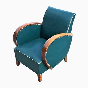 Vintage Art Deco Chair, 1930s