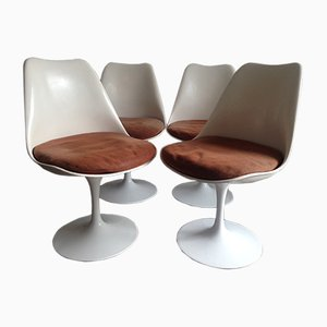 Vintage Tulip Chairs by Eero Saarinen for Knoll Inc., Set of 4