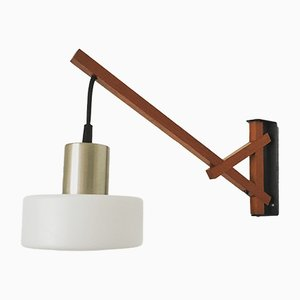 German Swivel Wall Lamp from Kaiser Leuchten, 1960s