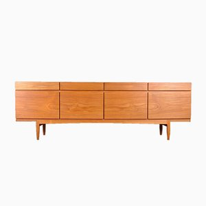 Model 66 Teak Sideboard by Ib Kofod-Larsen for Faarup Møbelfabrik, 1960s
