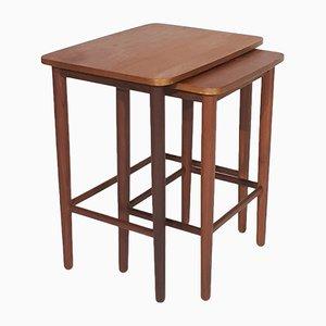 Teak Nesting Tables, 1950s