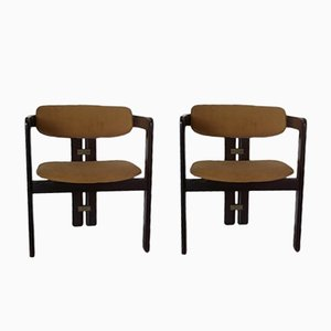 Mid-Century Pigreco Chairs by Tobia Scarpa for Gavina, Set of 2
