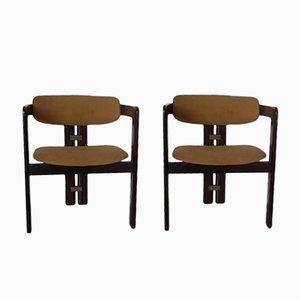 Mid-Century Pigreco Chairs von Tobia Scarpa für Gavina, 2er Set