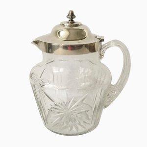 Karaffe aus Kristallglas von JWB, 1899
