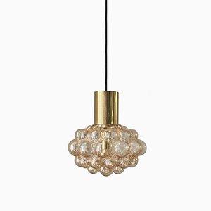 Grande Lampe Bulle en Verre par Helena Tynell pour Limburg, 1960s