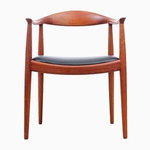 Fauteuils The Chairs par Hans J. Wegner pour Johannes Hansen, 1960s, Set de 4
