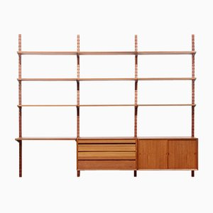 Mid-Century Scandinavian Teak Wall System by Poul Cadovius for Cado