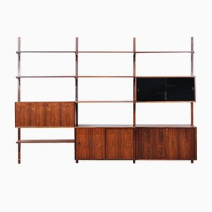 Danish Rosewood Wall Unit by Thygesen, 1960s