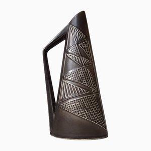 Vase ou Carafe Moderniste en Céramique par Svend Aage Holm-Sørensen pour Søholm, 1950s