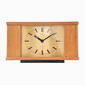 Vintage Table Clock from Junghans, 1970s