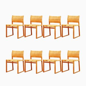 BM 61 Dining Chairs by Børge Mogensen for Fredericia, 1960s, Set of 8