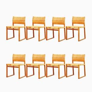 BM 61 Esszimmerstühle von Børge Mogensen für Fredericia, 8er Set