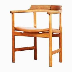 Dänischer Armlehnstuhl aus Eiche von Hans J. Wegner für PP Møbler
