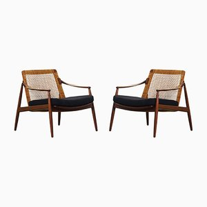 German Lounge Chairs by Hartmut Lohmeyer for Wilkhahn, 1950s, Set of 2