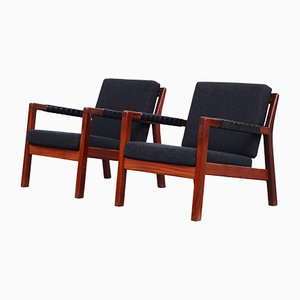Finnish Easy Chairs by Carl Gustaf Hiort af Örnas, 1960s, Set of 2