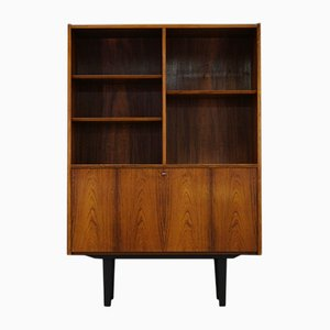 Mid-Century Bookcase with Bar by Poul Hundevad for Hundevad & Co.