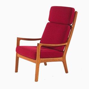 Armlehnstuhl aus Teak von Ole Wanscher für Poul Jeppesen, 1960er
