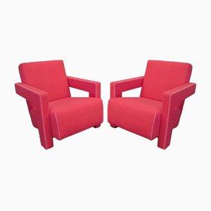 637 Utrecht armchair by Gerrit Thomas Rietveld for Cassina, 1990