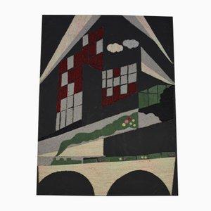 S2 Tapisserie von Giorgio Saporiti für Saporiti Italia, 1986