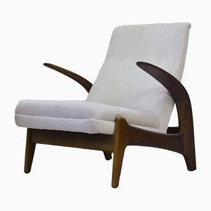 Teak Easy Chair by Rolf Rastad & Adolf Relling for Arnestad Bruk, 1950s
