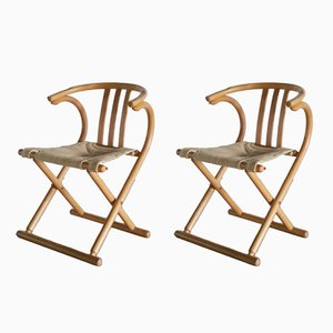 Folding Chairs from Thonet, 1960s, Set of 2