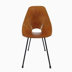 Vintage Medea Stühle aus Bugholz von Vittorio Nobili für Fratelli Tagliablue, 1950er