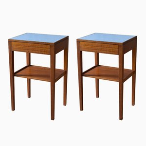 Teak Bedside Tables from Remploy, 1960s, Set of 2