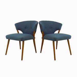 Club chair vintage, Danimarca, set di 2