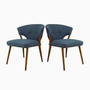 Vintage Danish Club Chairs, Set of 2
