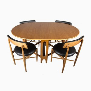 Fresco Teak Dining Set by Victor Wilkins for G-Plan, 1960s, Set of 4