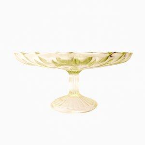 Vintage Kuchenständer von HSG Ząbkowice Glassworks
