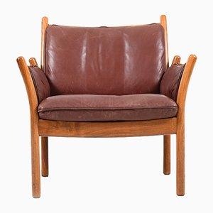 Modell Genius Vintage Sessel aus Palisander von Illum Wikkelso für CFC Silkeborg