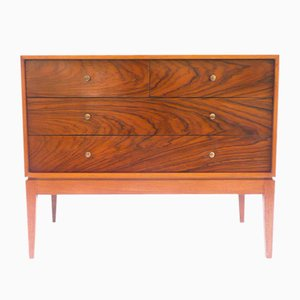 Teak & Rosewood Commode, 1950s