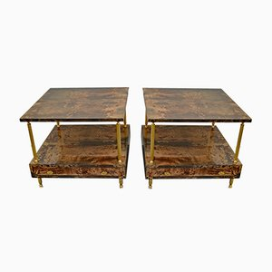 Nightstands by Aldo Tura, 1960s, Set of 2