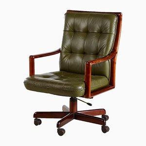 Chaise de Bureau Pivotante Vintage de Lübke, 1960s
