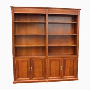 Mahogany Double Open Bookcase, 1960s