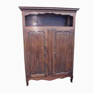 2-Door Oak Wardrobe, 1920s