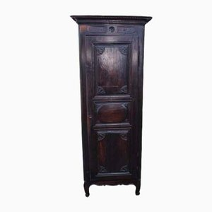 Dark Oak Buffet with Carved Decorative Panels, 1850s